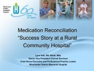 Success Story at a Rural Community Hospital - gowebcasting