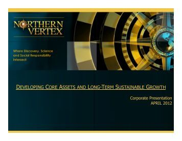developing core assets and long-term sustainable ... - gowebcasting