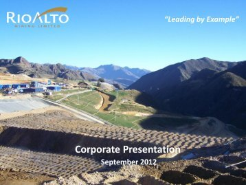 Corporate Presentation - gowebcasting