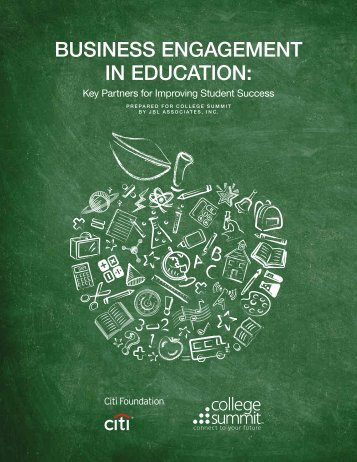 Business Engagement in Education: Key Partners for ... - Blogs