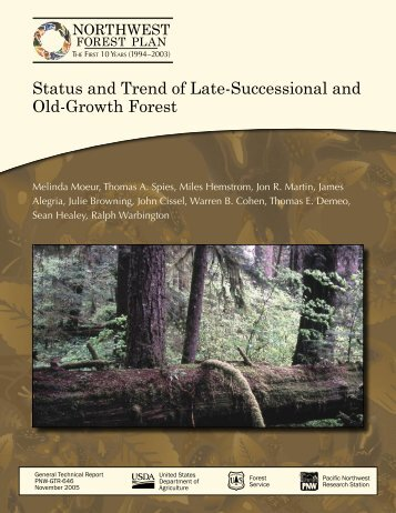 Status and Trend of Late-Successional and Old-Growth Forest