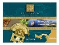 Bellhaven Precious Metals Summit 9 2011 ... - gowebcasting