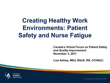 Creating a safe and healthy workplace for all
