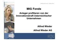 MIG Fonds - WMD Brokerchannel