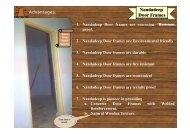 Nandadeep Door Frames - Nandadeep.org