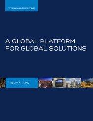 A Global Platform for Global Solutions
