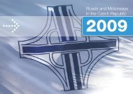 Roads and Motorways in the Czech Republic - Ředitelství silnic a ...