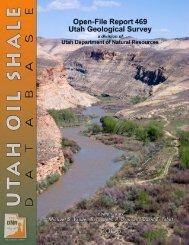 Summary report - Utah Geological Survey - Utah.gov