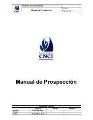 Manual de Prospección