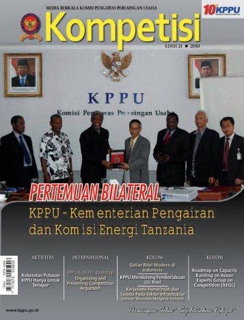 Edisi 21 Tahun 2010 - KPPU
