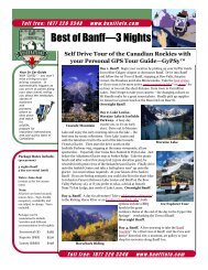 Best of Banff—3 Nights - Banff vacations – tours