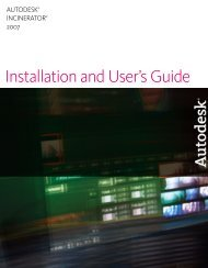 Installation and User's Guide - Autodesk
