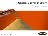 Conveyor Safety - Illinois Association of Aggregate