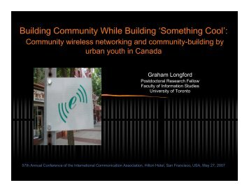 Build a Community...