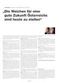 die weichen für eine gute zukunft österreichs sind heute ... - periskop - Page 6