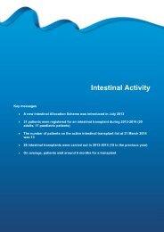 Section 9 - Intestinal activity - Organ Donation