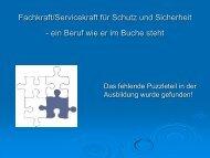 Fachkraft/Servicekraft für Schutz und Sicherheit - Security-Forum