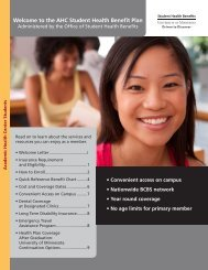 2011-2012 AHC SHBP Enrollment Brochure with Quick Reference ...