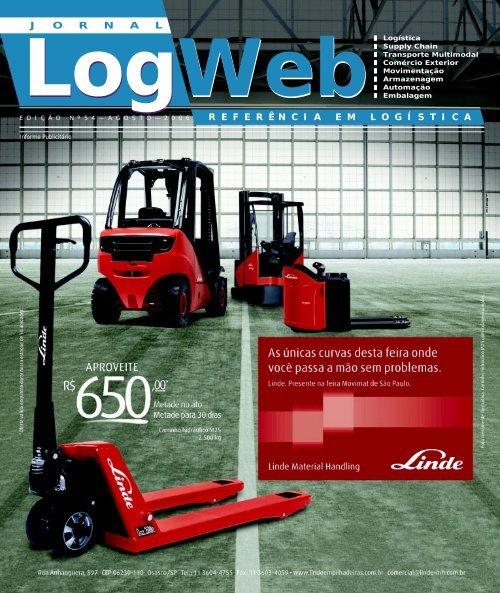 Edição 54 download da revista completa - Logweb