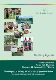 Audit Committee Agenda - Fylde Borough Council