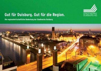 Regionalwirtschaftliche Bedeutung der Stadtwerke Duisburg