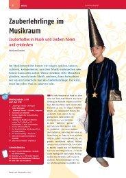 Leseprobe Musik in der Grundschule 2011/04