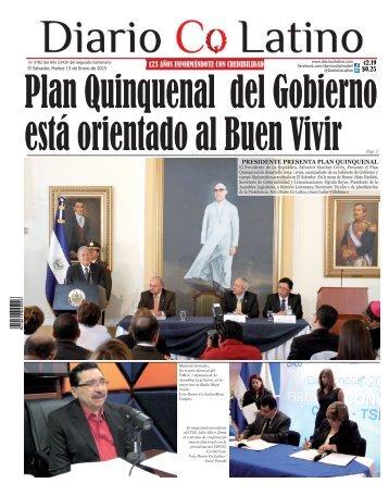 Edición 13 de Enero de 2015