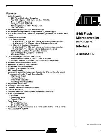 At90s1200 datasheet