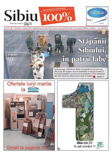 pagina 9 Stăpânii Sibiului, în patru labe - Sibiu 100