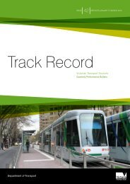 Track Record 42, January to March 2010 - Public Transport Victoria