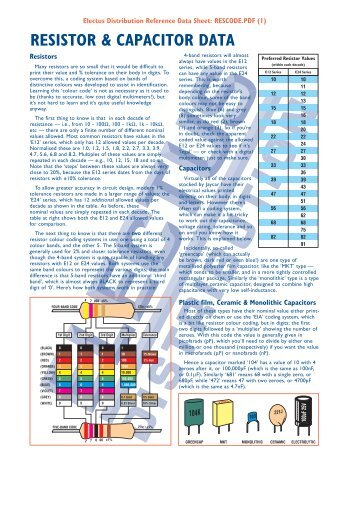 Capacitor Uf Nf Pf Conversion Chart