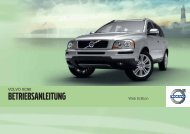 Xc90 owners manual my11 de tp11812 - ESD - Volvo