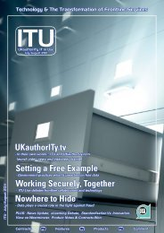 Download the complete July/August 2011 issue ... - UKAuthority.com