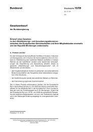 Gesetzentwurf Bundesrat - Umwelt-online