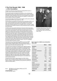 3 The First Decade 1958 - 1968 – a firm foundation - ainse