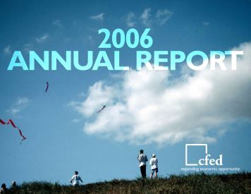 2006 Annual Report - CFED