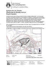 Kjelsåsveien 161, Brekke Planforslag til offentlig ettersyn ...