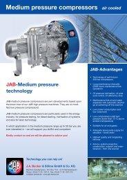 Medium pressure compressors