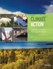 Climate Action: Adapting to Change, Protecting Our Future - Ontario.ca