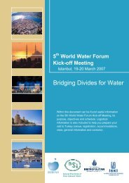 Bridging Divides for Water - World Water Council