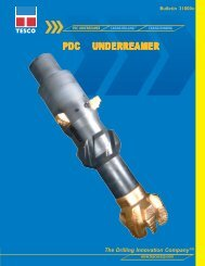 Tesco Casing Drilling Type 5 Underreamer Brochure April 2004.pmd