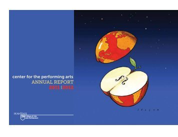 ANNUAL REPORT 2011 2012 - Center for the Performing Arts