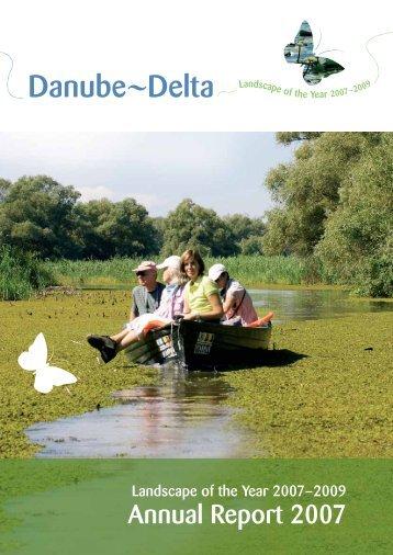 Annual Report 2007 Landscape of the Year Danube delta