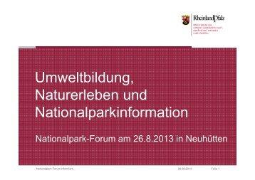Vortrag von Ralf Laux