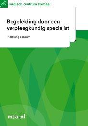 mca.nl Begeleiding door een verpleegkundig specialist