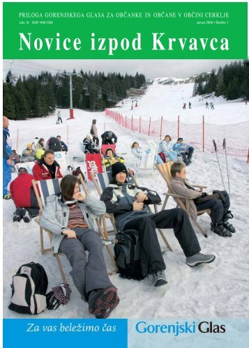 Številka 1, Januar 2006 - Cerklje.si