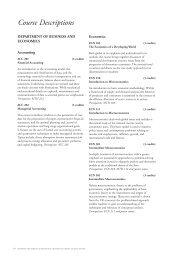 Course Descriptions - Richmond - The American International ...