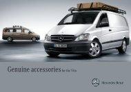 Genuine accessories for the Vito - Mercedes