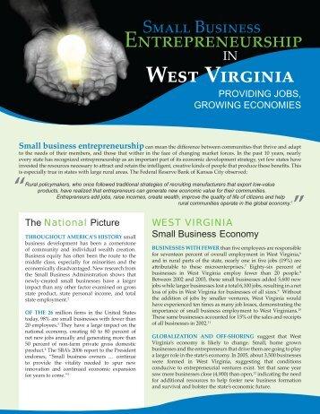 West Virginia - CFED