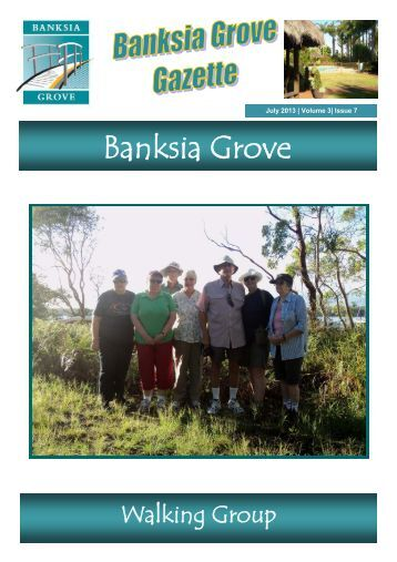 View newsletter here - Banksia Grove Village